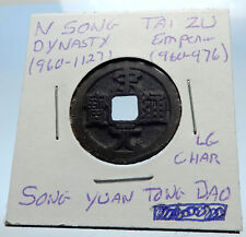 960AD CHINESE Northern Song Dynasty Antique TAI ZU Cash Coin of CHINA i71572
