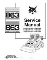 Bobcat® Bobtach Handle Kit LH Fits 751 753 763 773 863 873