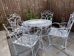 french garden in garden patio