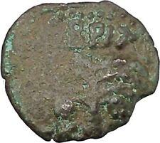 BRITANNICUS & NERO Antonius Felix Jerusalem Ancient Roman CLAUDIUS Coin i45690