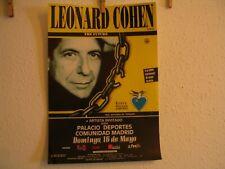 leonard cohen original poster in music
