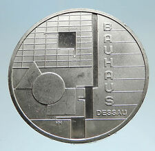 2004 GERMANY Bauhaus Dessau Art School Genuine Silver German 10 Euro Coin i75074