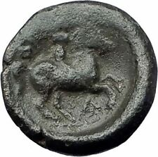 Philip II 359BC Olympic Games HORSE Race WIN Macedonia Ancient Greek Coin i61464