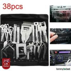 Ford Fiesta Mk6 Audio Wiring Diagram Suzuki Ltz 400 Carburetor Stereos Head Units For Cars Ebay 38x Universal Car Door Stereo Release Removal Tool Pliers Fit Mondeo