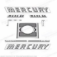 Mercury 25hp Fourstroke Bigfoot 2005 Style Outboard Decal