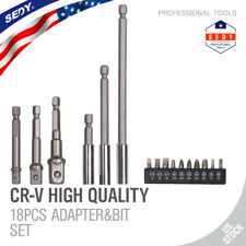 Drill Bit Extension With Chuck