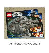 Falcon Star Wars Lego Instruction Manuals For Sale Ebay