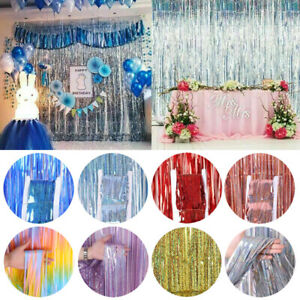 birthday party curtain decoration party