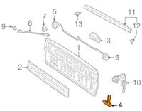 For BMW Genuine Brake Air Duct Front Left Inner