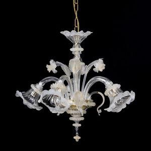 Dal 2002 specializzati in vendita lampade online. Lampadari Da Soffitto Bianco In Vetro Di Murano Acquisti Online Su Ebay