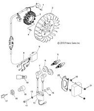 Polaris Snowmobile Electrical Components for Polaris Super