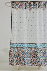 anthropologie floral shower curtains