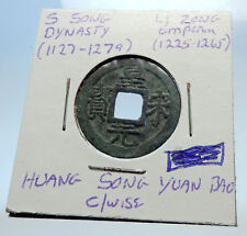 1225AD CHINESE Southern Song Dynasty Genuine LI ZONG Cash Coin of CHINA i71494