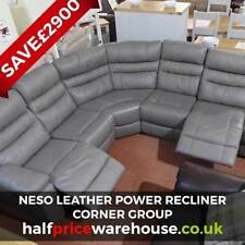 electric recliner leather sofas uk how to repair sofa rip scs ebay more than 4