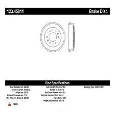 Centric Parts Brakes & Brake Parts for 1987 Mazda B2000