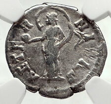 FAUSTINA I Sr Antoninus Pius Wife Empress 141AD Silver Roman Coin NGC i72783