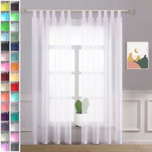 long tab top curtains for sale ebay