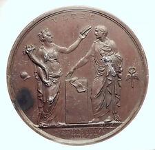 1805 FRANCE Napoleon Bonaparte as ITALY KING at MILAN French Medal NGC i73475
