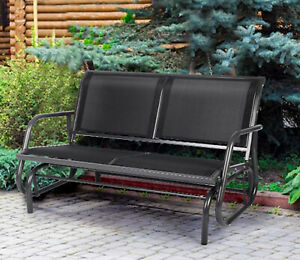 metal glider patio chairs for sale in