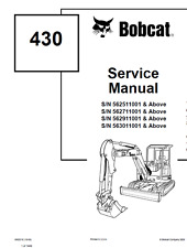 Heavy Equipment Manuals & Books for Bobcat Excavator for