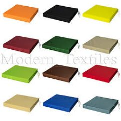 Garden Chair Cushions Ergonomic And Ottoman Furniture Pads Ebay Waterproof Cushion Seat Outdoor Tie On Patio Removable Cover
