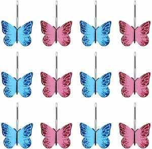 butterfly shower curtain hooks for sale