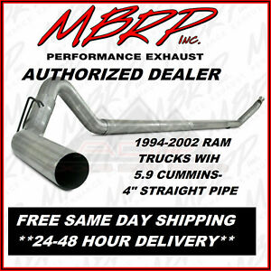 exhaust systems for 2001 dodge ram 3500