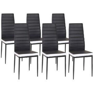 6 chaises de salle a manger pour la
