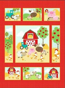 baby panels quilting fabric for sale ebay