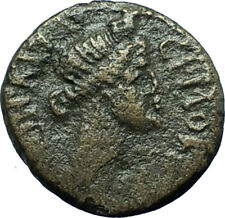 Hermocapelia in Lydia 117AD Emp HADRIAN Time Greek Coin ROMAN SENATE ROMA i66574