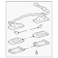 Genuine Toyota License Plate & Marker Light Bulb Socket