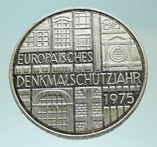 1975 Germany European Historic Monuments Proof Silver 5 Mark German Coin i76881