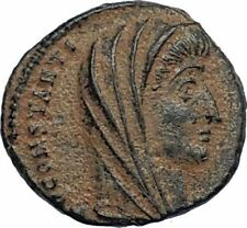 Divus Saint CONSTANTINE I the GREAT 347AD Authentic Ancient Roman Coin i67119