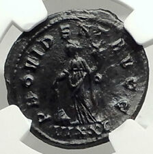 NUMERIAN Authentic Ancient 283AD Original Roman Coin PROVIDENTIA NGC i76323