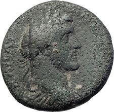 ANTONINUS PIUS Marcus Aurelius Father Zeus Thunderbolt Ancient Roman Coin i73629