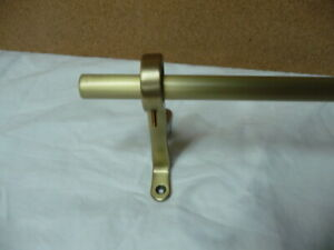 pottery barn metal curtain rods