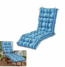 deluxe patio chaise cushion emerson