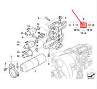 Genuine BMW E46 Coupe Manual Transmission Shift Valve kit