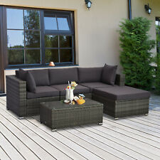 rattan wicker outdoor furniture sets