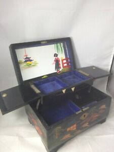 Japanese Musical Box : japanese, musical, Japanese, Jewelry, Collectible, Music, Boxes, (1940-1970)