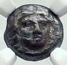 Satrap Maussollos Silver Greek 377BC Coin Halikarnassos in Caria RARE NGC i77390