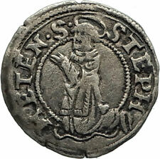 1551 FRANCE Metz Bishop ROBERT of LENONCOURT Antique Silver FRENCH Coin i74596