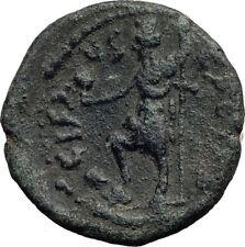 HADRIAN 117AD Caesarea Maritima in Judaea RARE Ancient Roman Coin Tyche i64224