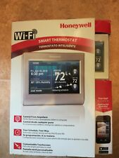 honeywell rth9580wf youtube one wire zip arduino smart thermostats ebay thermostat silver gently used