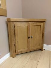 corner cabinets for living room cheap small ideas oak ebay kingsford solid cabinet cupboard 90cm 51 2cm 80cm