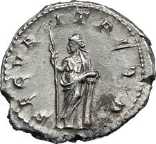 GORDIAN III 244AD Rome Authentic Ancient Silver Roman Coin Securitas i67142