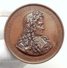 1849 FRANCE Charles du Fresne, sieur du Cange Amiens Statue FRENCH Medal i75117