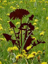 Lowenzahn Pusteblume Gartenstab Stele Stecker Metall Edelrost Gartendeko