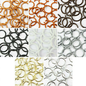 plastic curtain rings for sale ebay