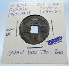 1086AD CHINESE Northern Song Dynasty Antique ZHE ZONG Cash Coin of CHINA i71560